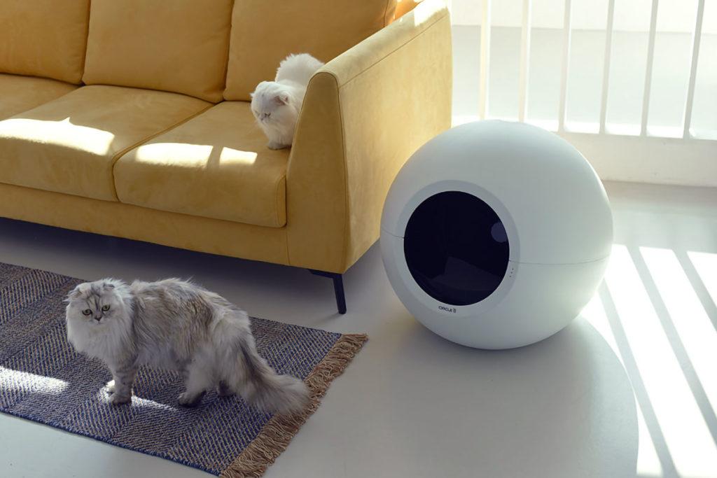 Pluto Circle Zero Self-cleaning Cat Litter Box