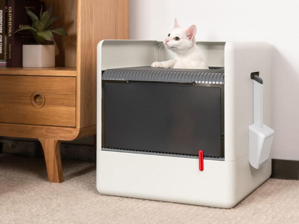 Superpet Poop Cube Cat Litter Box