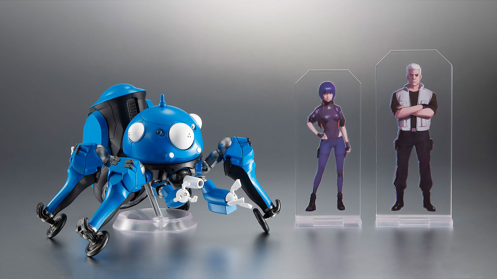 Have A Piece Of Ghost In The Shell Sac 2045 With This Adorable Tachikoma Figure Shouts