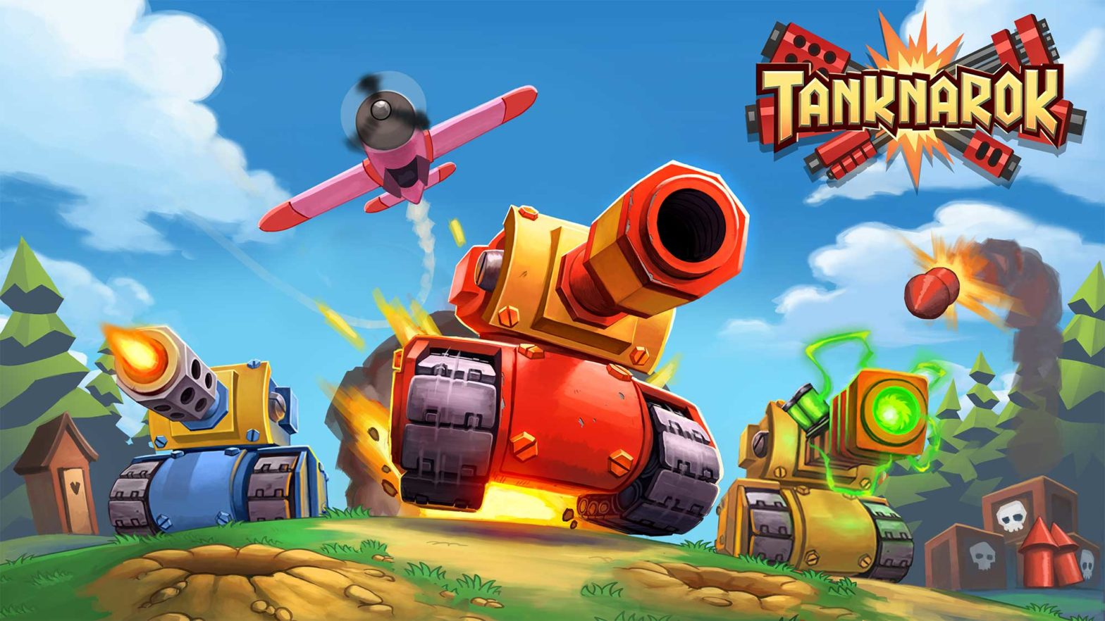 Tanknarok Twin-stick Shooter Video Game