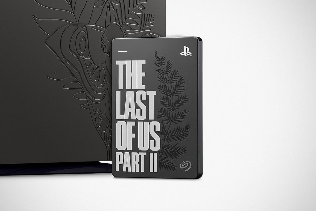 The Last of Us Part II Seagate Hard Drive