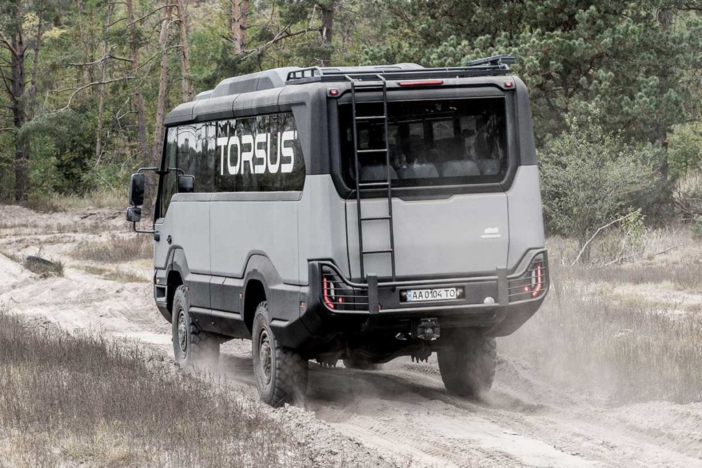 Torus Praetorian Heavy Duty 4x4 Offroad Bus