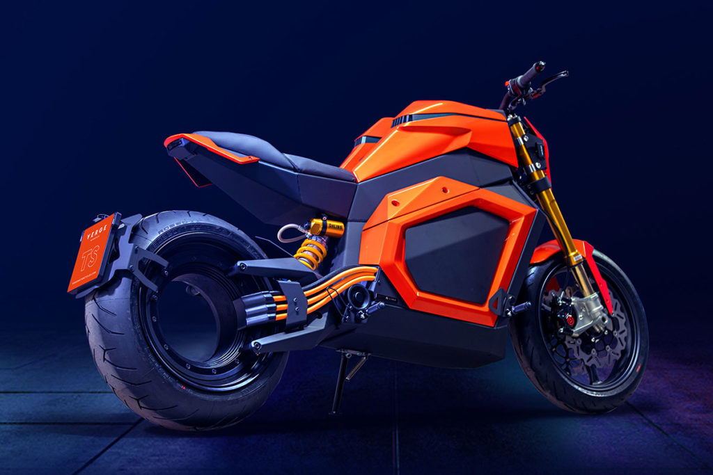 erge TS Hubless Electric Roadster Motorcycle