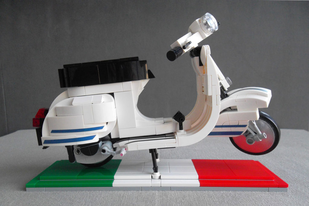 1978 Vespa LEGO Ideas Submission