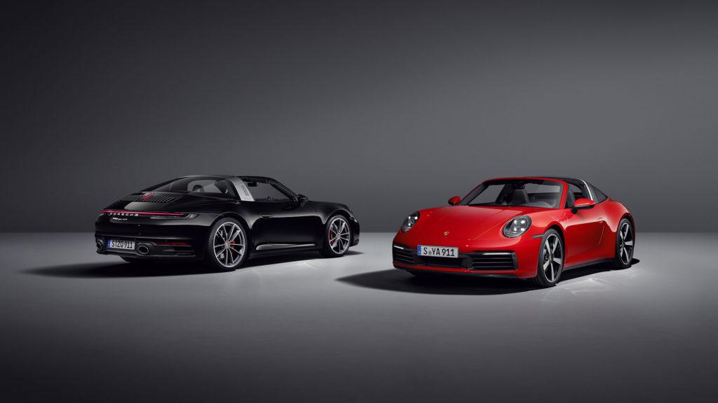 2020 Porsche 911 Targa 4 and Targa 4S