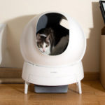 Aimicat Automatic Cat Litter Is As Futuristic In Functions As Its Aesthetic