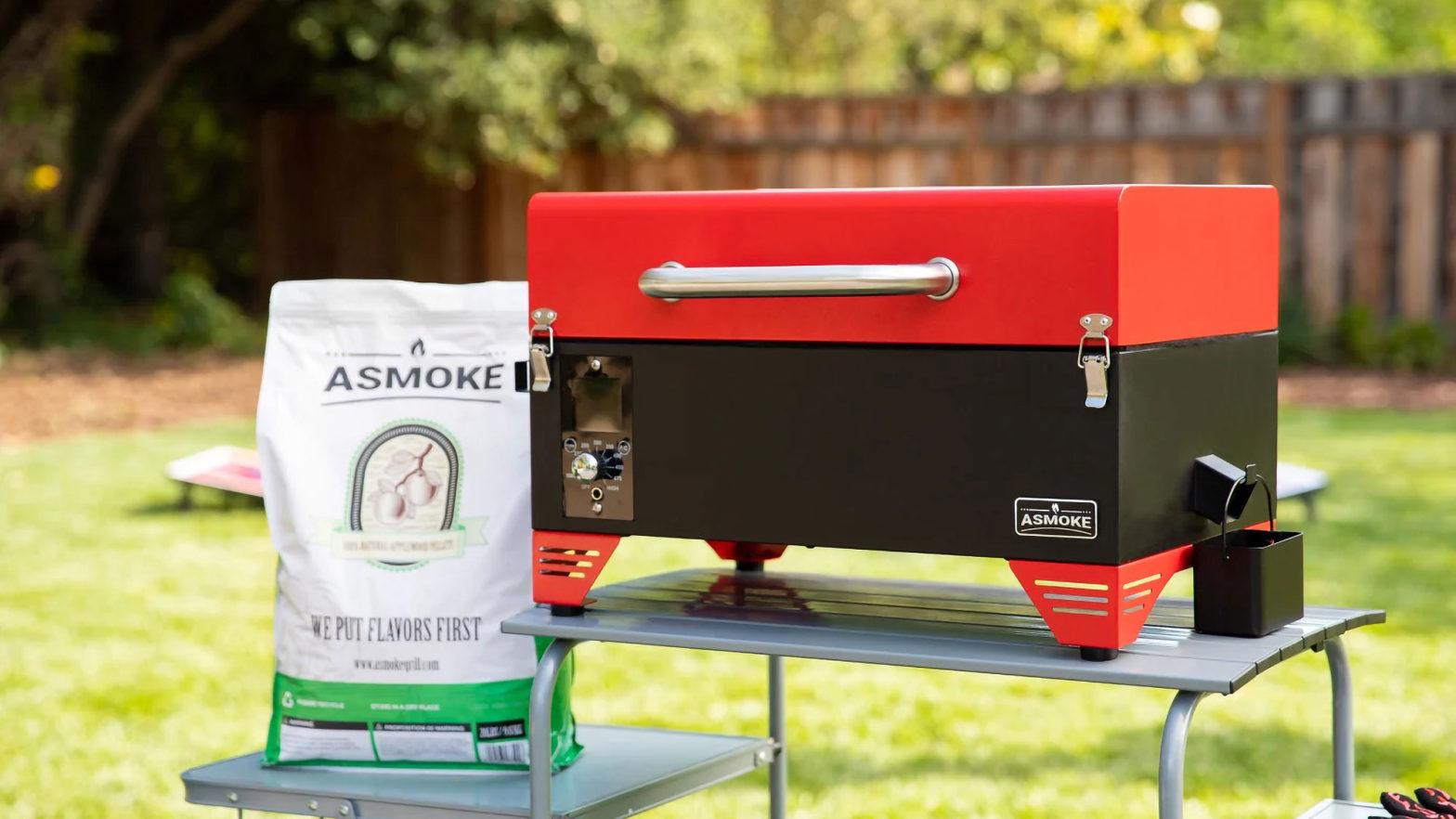Asmoke Portable Applewood Pellet Grill