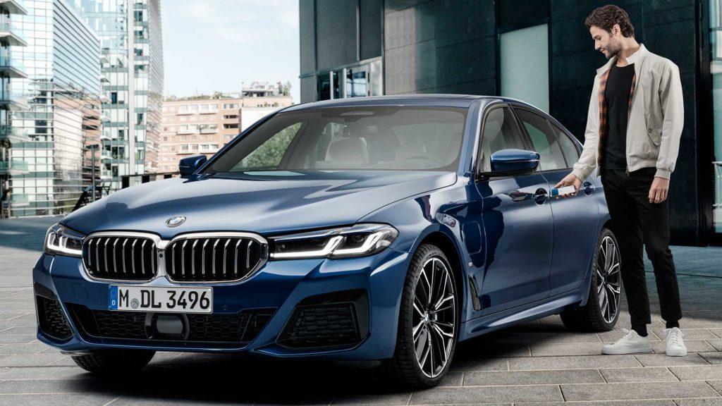 BMW Digital Key for iPhone Announced