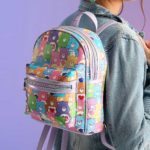 Here's A Super Adorable All-over Print Mini Backpack For <em>Care Bears</em> Fans