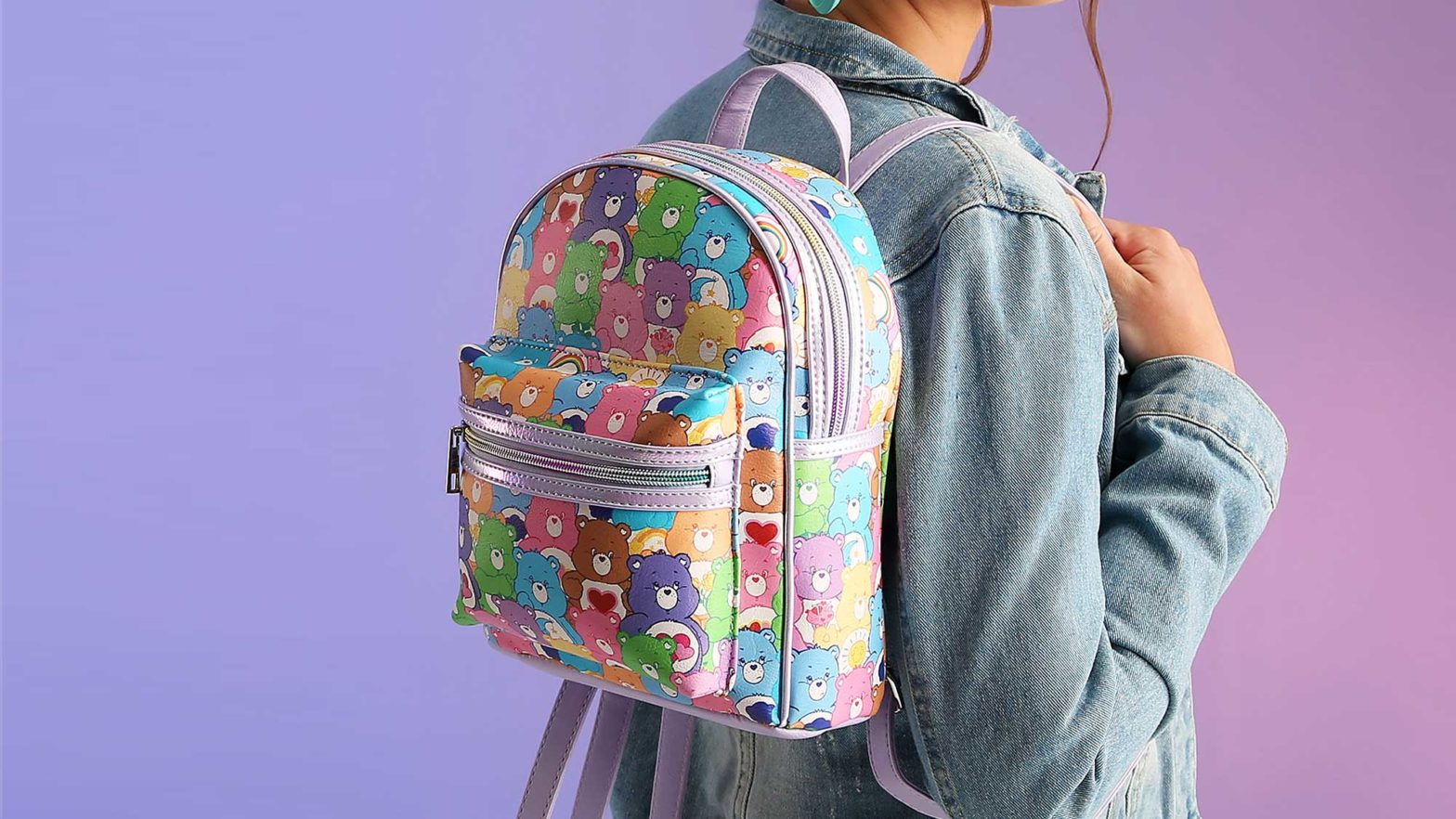 Care Bears Classic All-over Print Mini Backpack