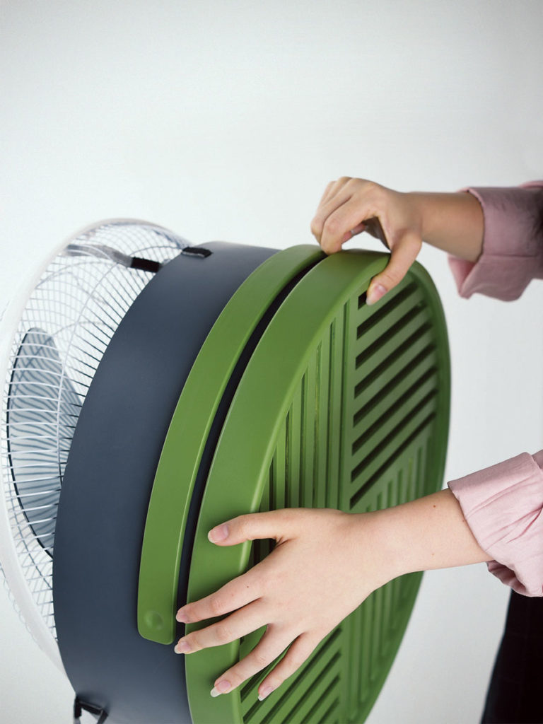 Cooling Attachment for Standing Fan