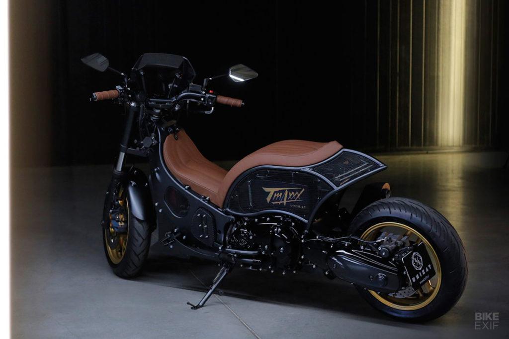 Custom Yamaha TMAX XP500 Scooter