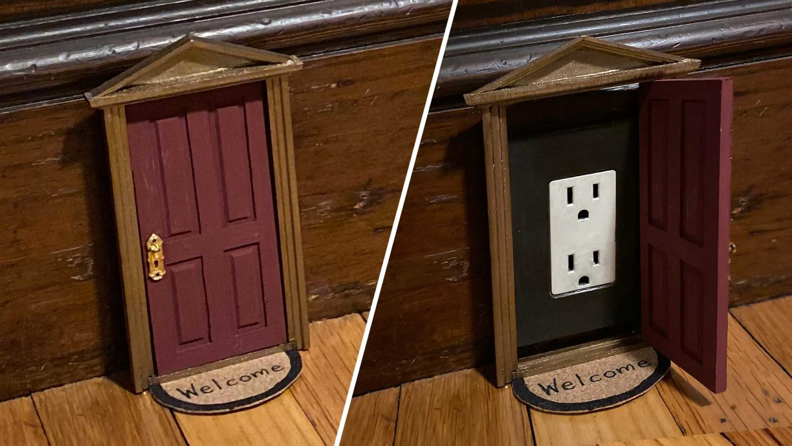 Electrical Outlets Dollhouse Doors