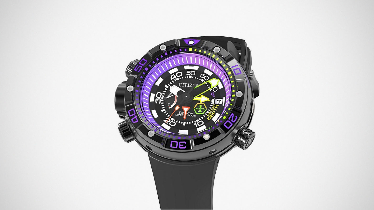 Evangelion x Citizen PROMASTER Watch