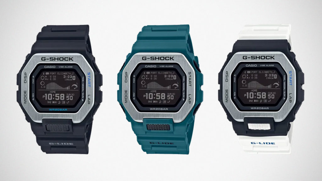 G-Shock G-LIDE GBX100 Surf Watches