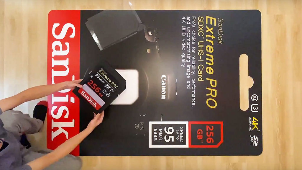 Giant Size Working SD Card
