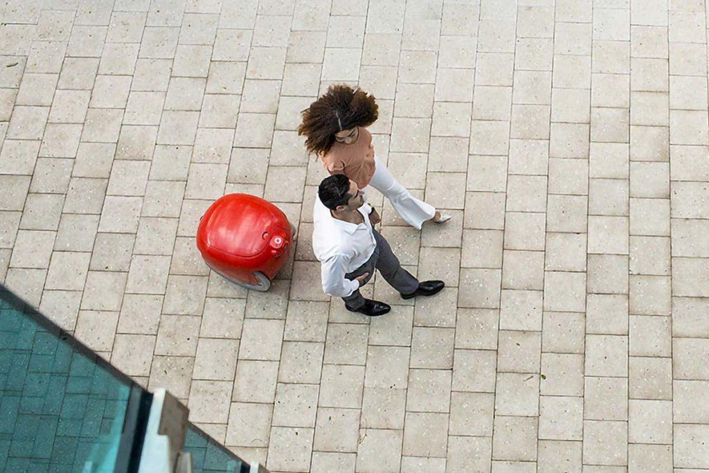 Gita Following Robot by Piaggio