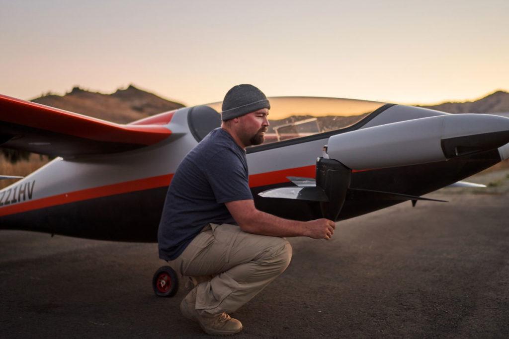 Heaviside Personal Air Transport by Kitty Hawk