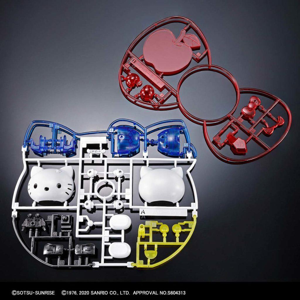 Hello Kitty RX-78-2 Gundam Clear Model Kit