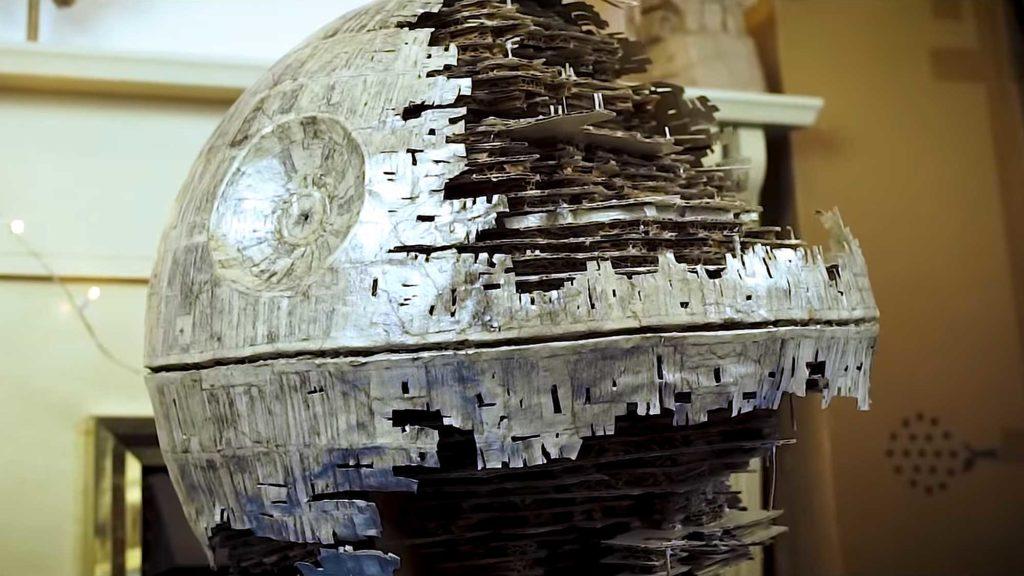 How To Make A Cardboard Death Star II