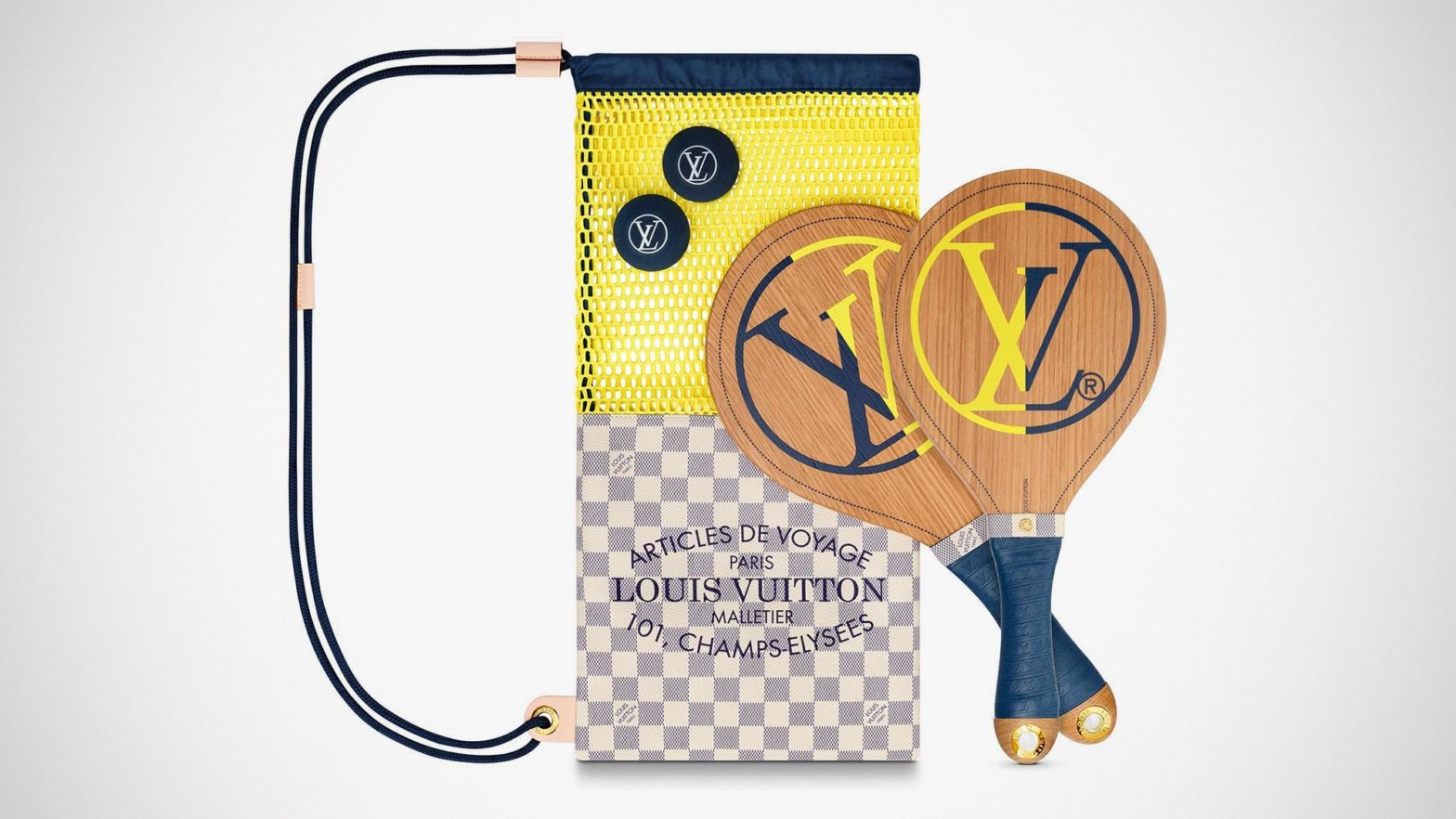 Louis Vuitton Beach Bat Set
