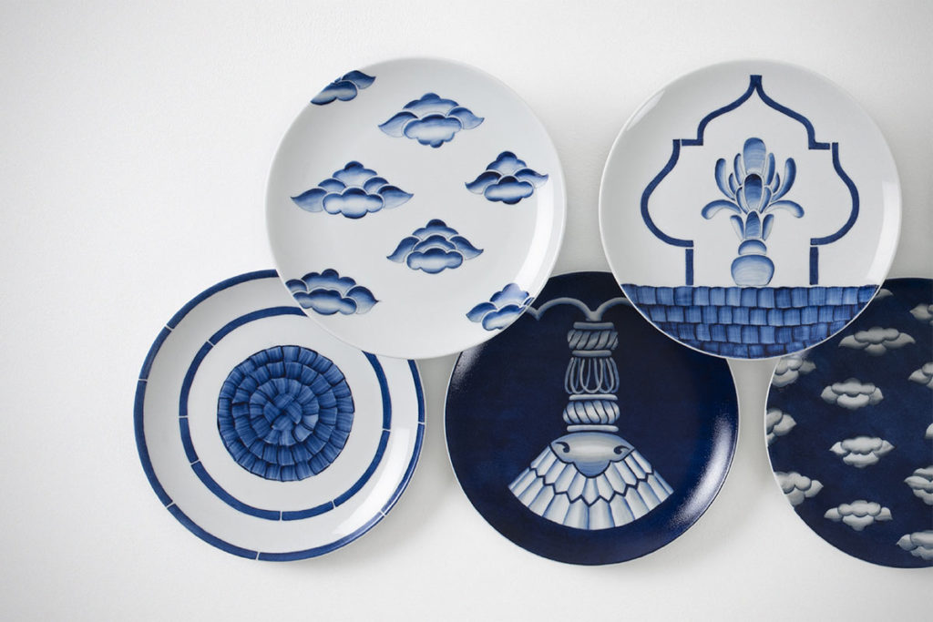 Neel Porcelain Plate Collection