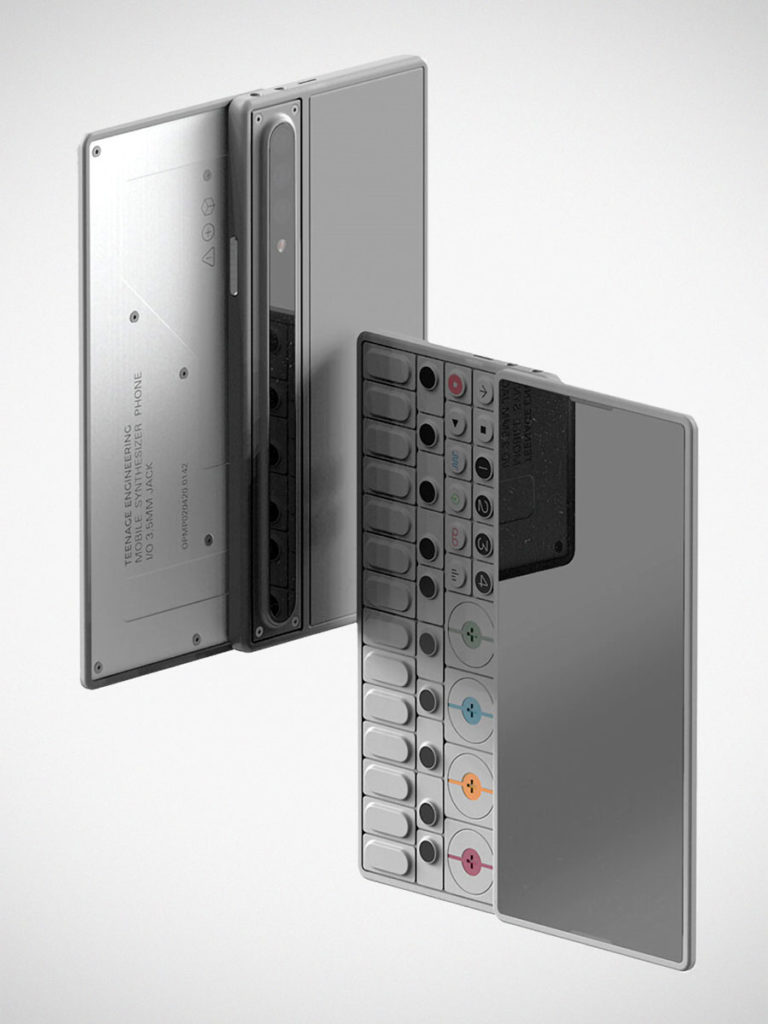 OP-S Synthesizer Smartphone by GRIS Design