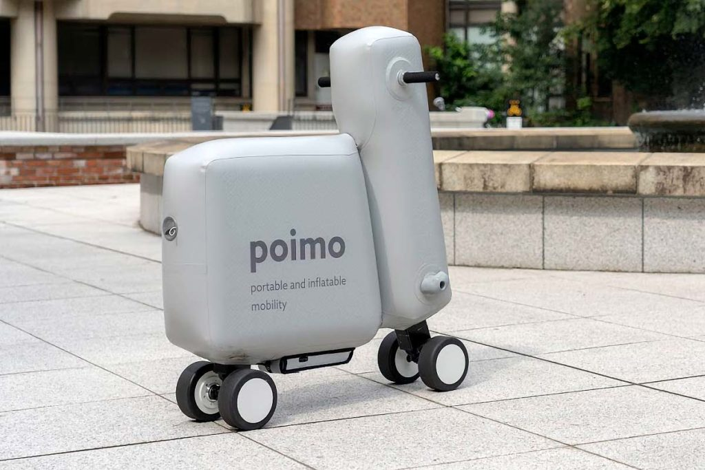 Poimo Portable and Inflatable Mobility