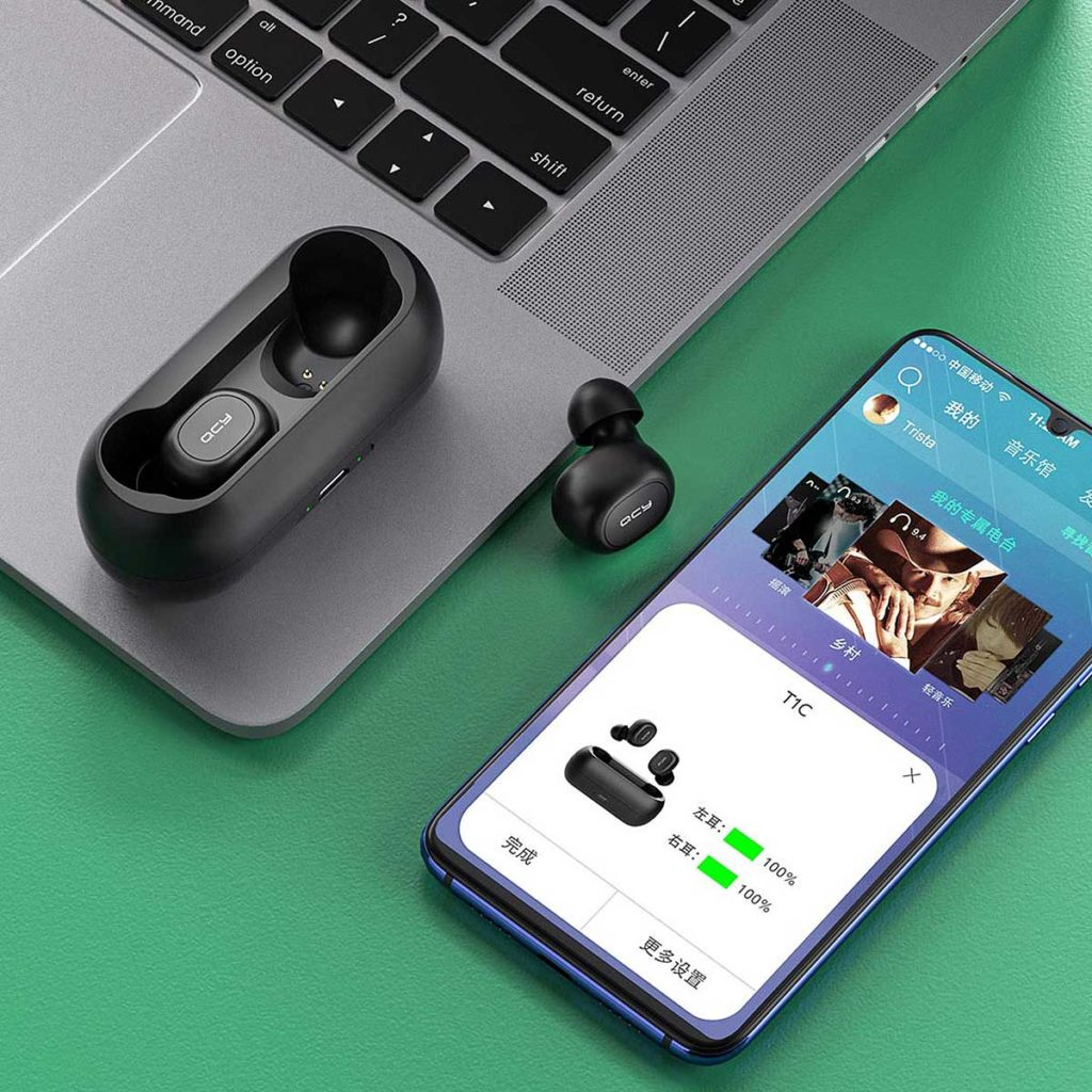 QCY T1C True Wireless Earbuds
