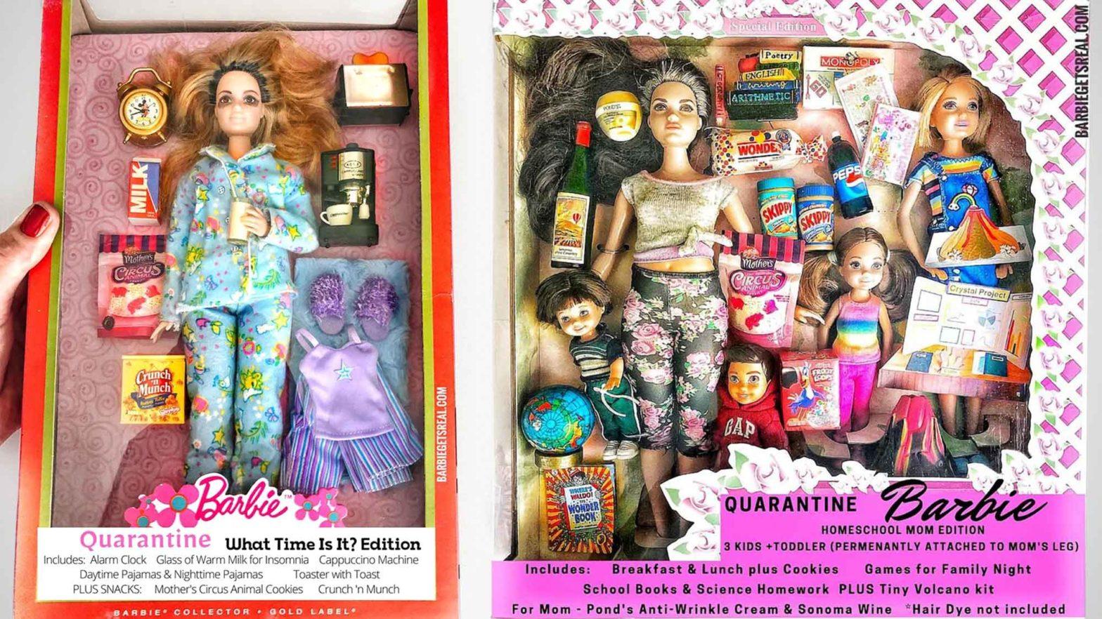 Quarantine Barbie by Grandma Gets Real
