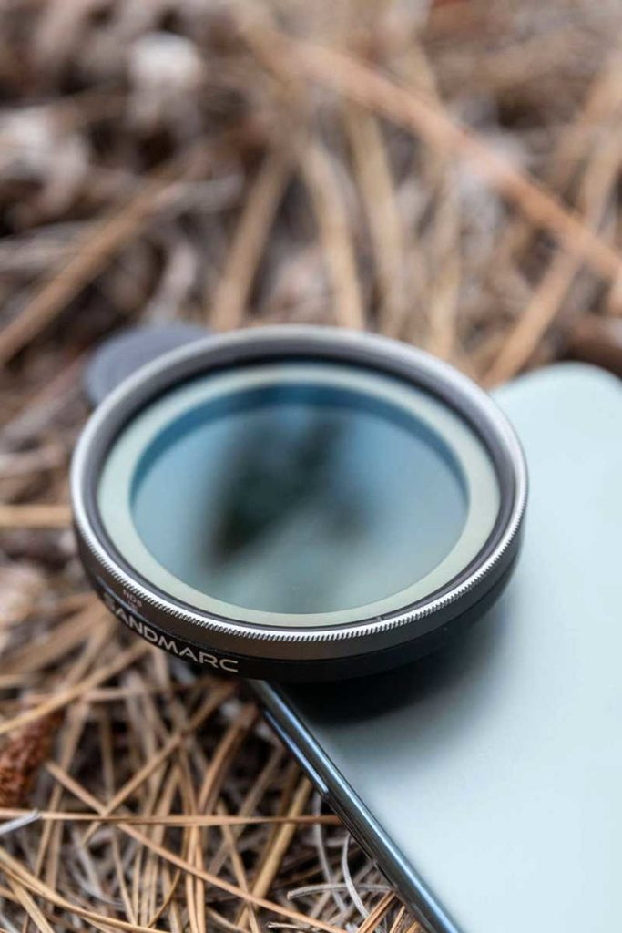 SANDMARC Motion Variable ND Filter for iPhone