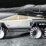 Artist Reimagined Tesla Cybertruck As A Moonrover And It Looks Just Right At Home On The Moon
