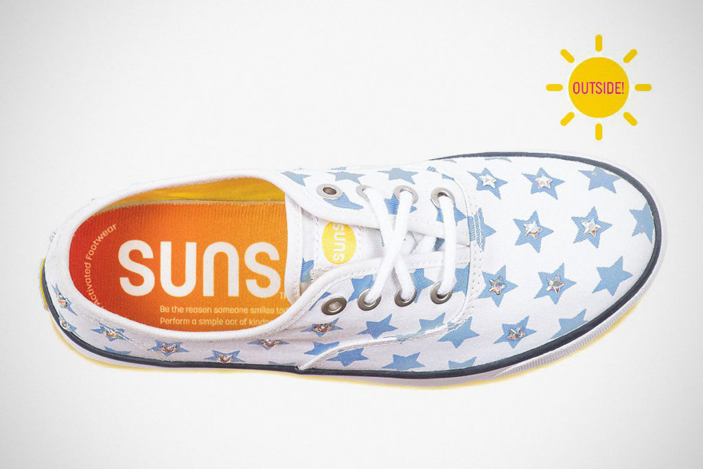 Suns Shoes Color-changing Shoes