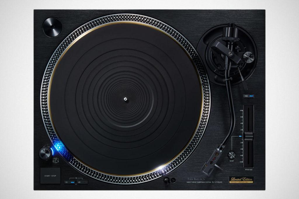 Technics SL-1210GAE 55th Anniversary Turntable