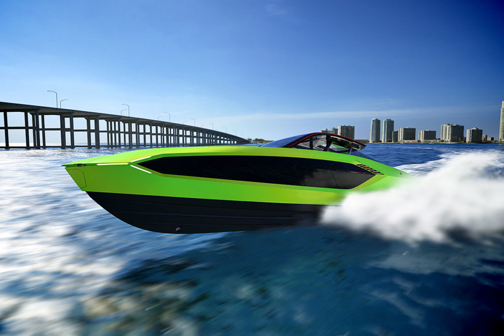 Tecnomar for Lamborghini 63 Yacht