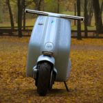 Someone Reimagined The Original Vespa As An Electric Scooter And It Looks Fabulous