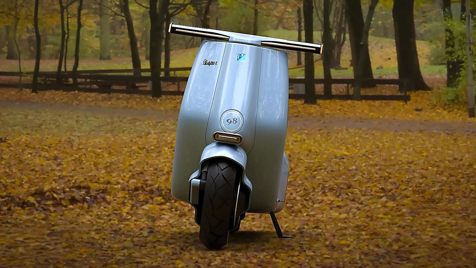 Vespa 98 Electric Concept by Mightyseed