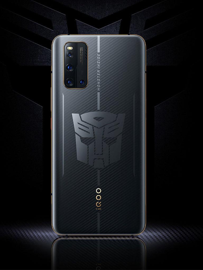 Vivo iQOO 3 Transformers Limited Edition