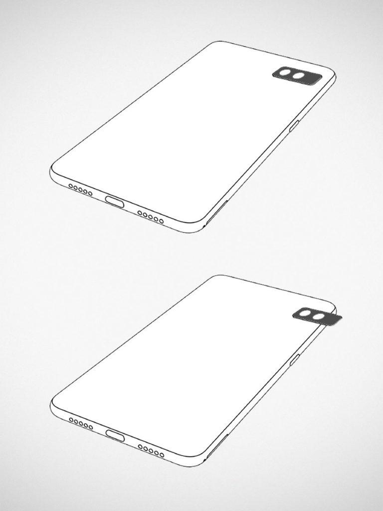 Xiaomi Patent for Sliding Cameras for Smartphone