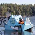 Zeltini Z-Triton Is A Pedal Assist Trike, A Boat And A Camper Rolled Into One