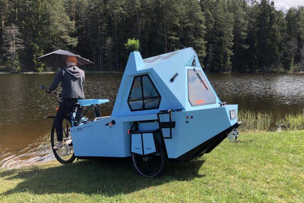 Zeltini Z-Triton Houseboat Trike