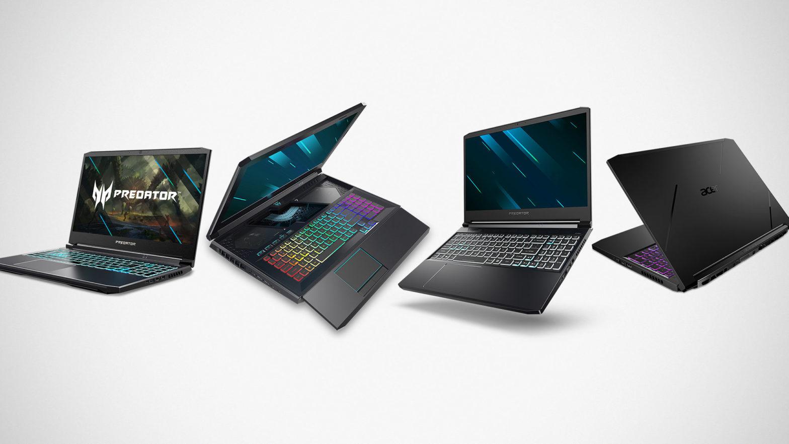 2020 Acer Predator Helios, Predator Triton and Nitro