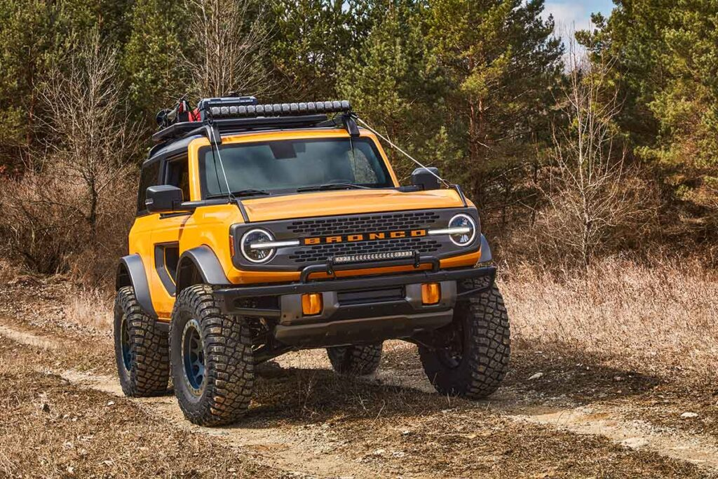 2021 Ford Bronco 2- and 4-Door SUV
