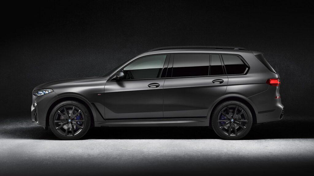 BMW X7 Dark Shadow Edition SUV