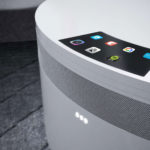 This Futuristic Nightstand's Entire Surface Is A Wireless Charging Pad And It's A Cooler Too