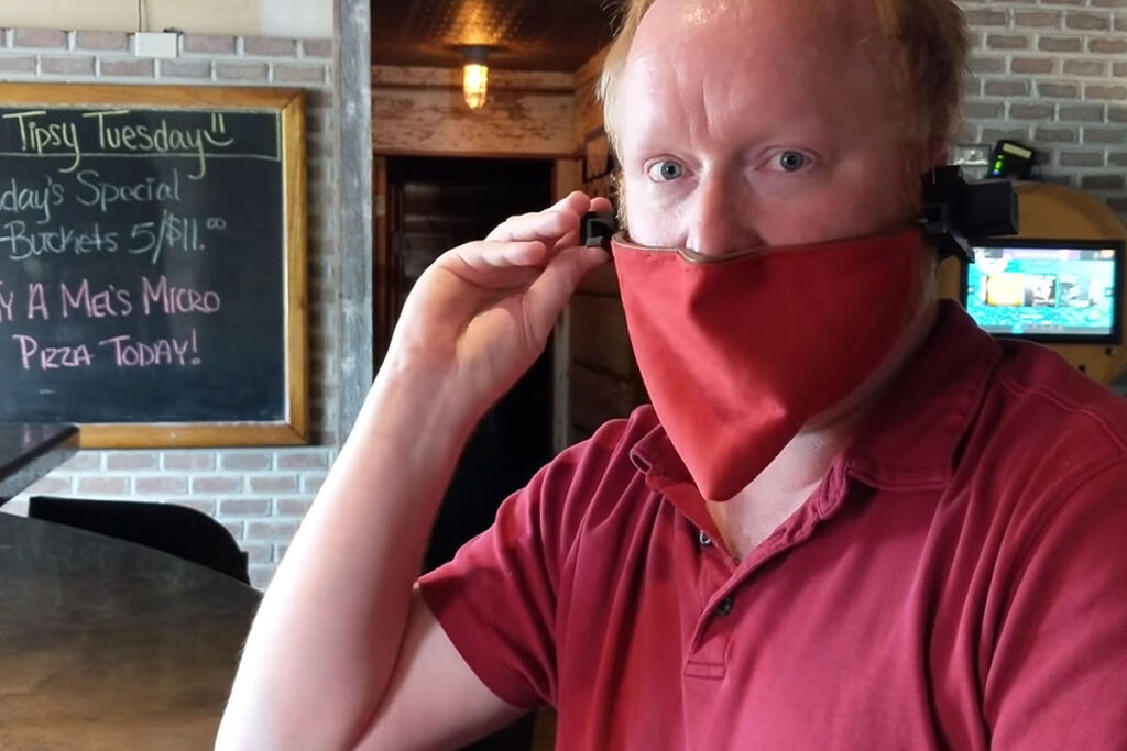 DIY Auto-Mask Mark 2 by Ben Heck