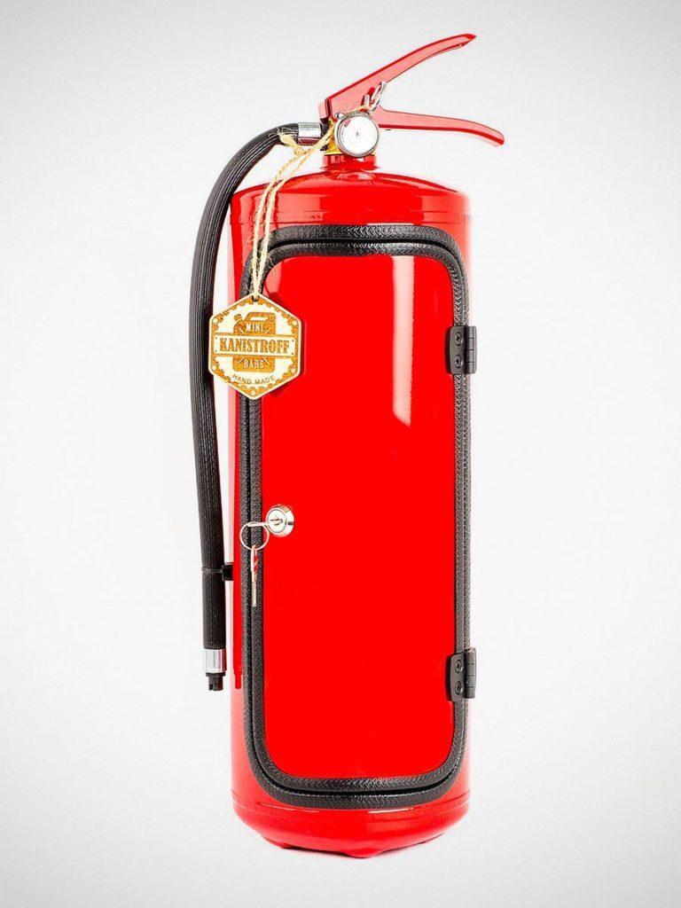 Fire Extinguisher Mini Bar by JerryCanBar