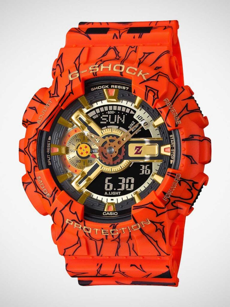 G-Shock x Dragon Ball Z GA-110JDB Watch
