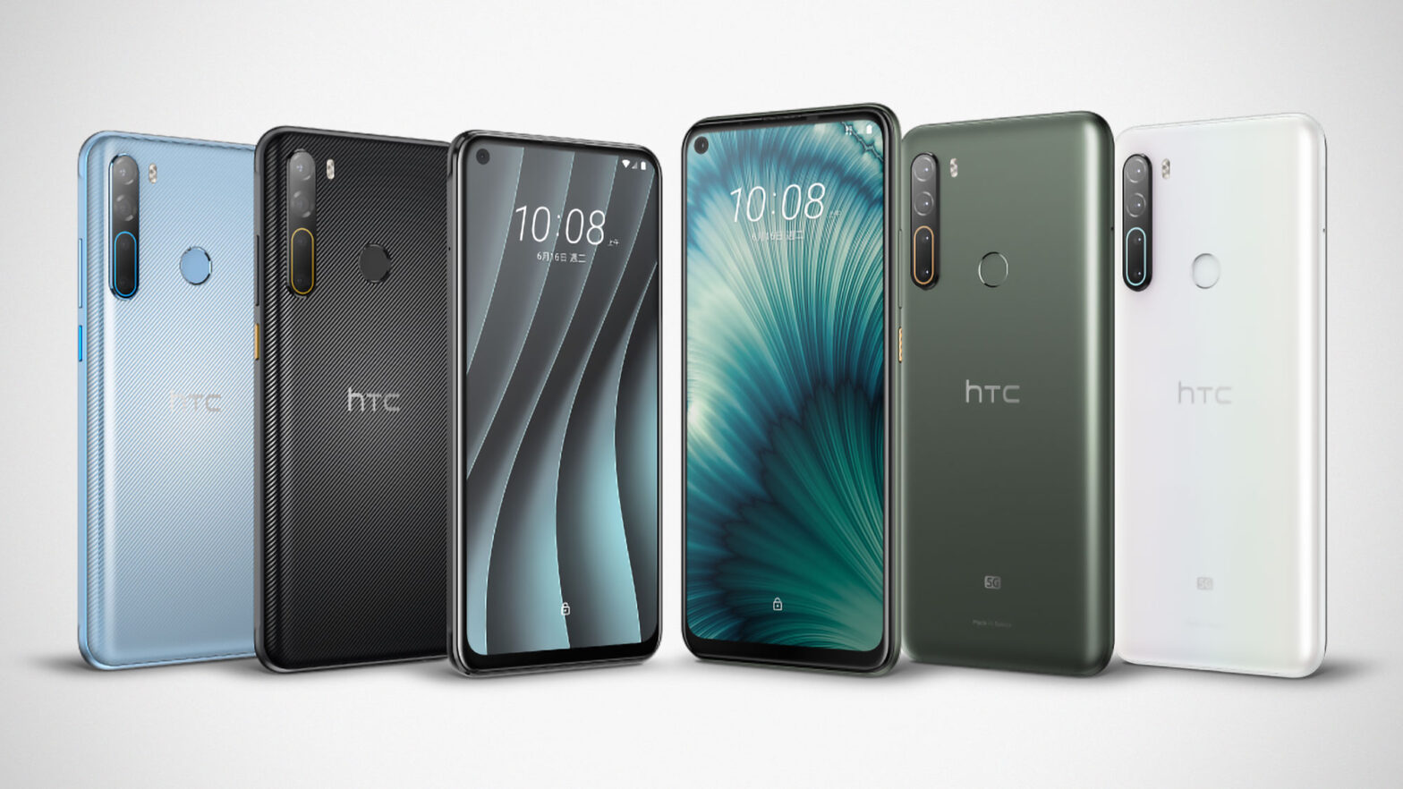 HTC Desire 20 Pro and U20 5G Smartphones