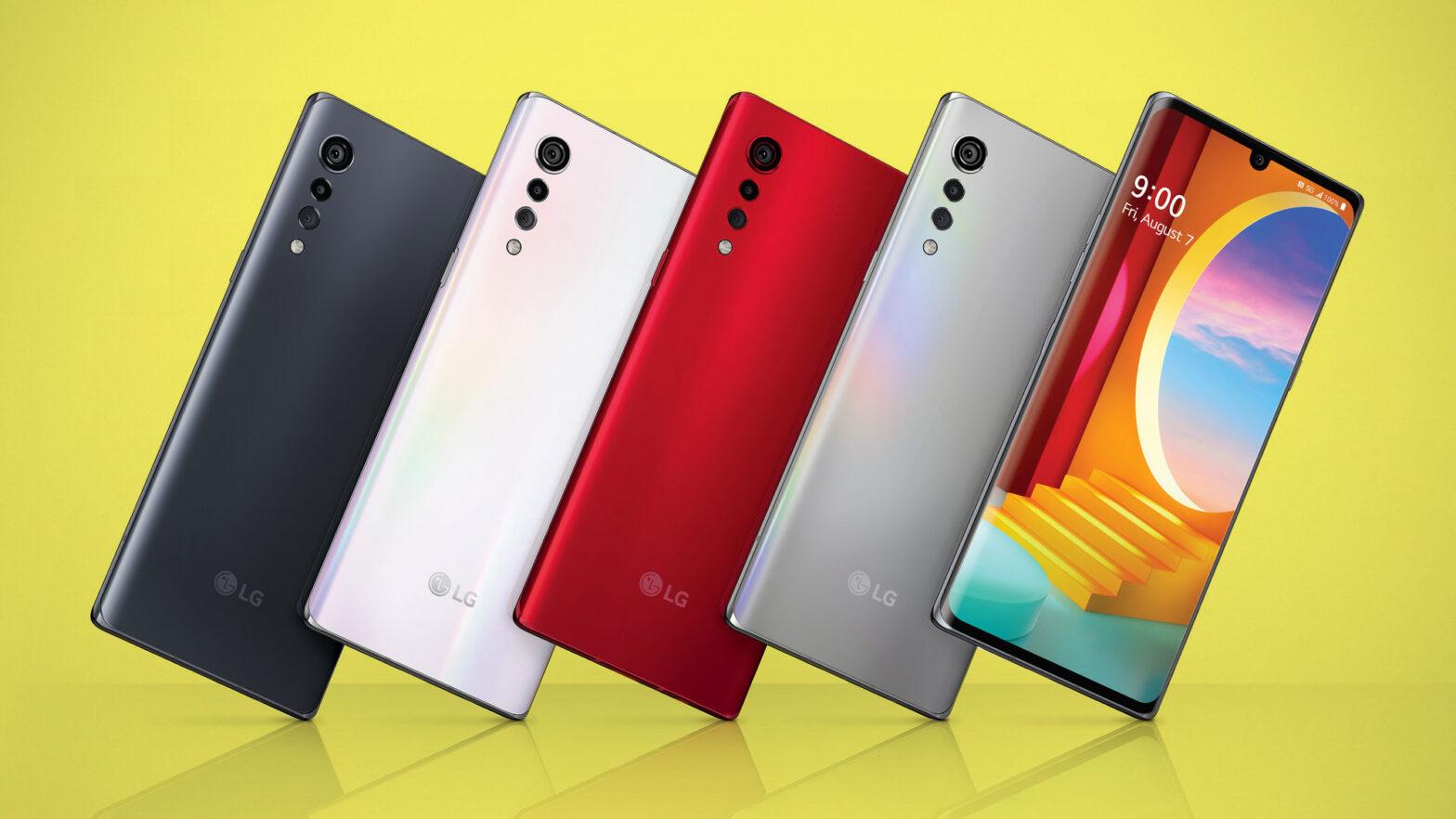 LG Velvet Mid-range Android Smartphone